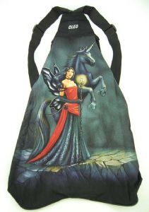 Hippy Bag~Unisex Pagan Hippy Fairy with Unicorn Backpack~Fair trade by Folio Gothic Hippy 95115